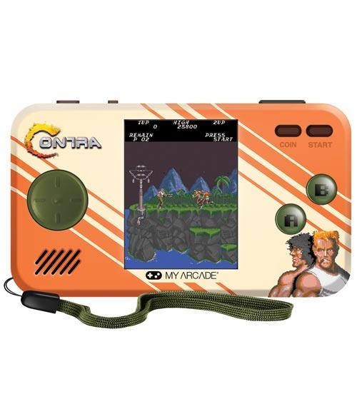 My Arcade Contra Pocket Player