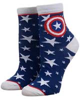 Captain America Superhero Ankle Socks