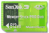 PSP 512 MB Memory Stick Pro Duo