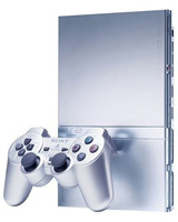 Sony Playstation 2 Model 2 Silver System