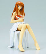 Neon Genesis Evangelion Asuka Langley Shoryu: Casual Clothes PVC Statue