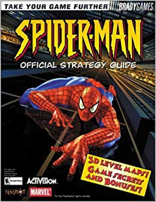 Spider-man: the Movie Official Strategy Guide Book