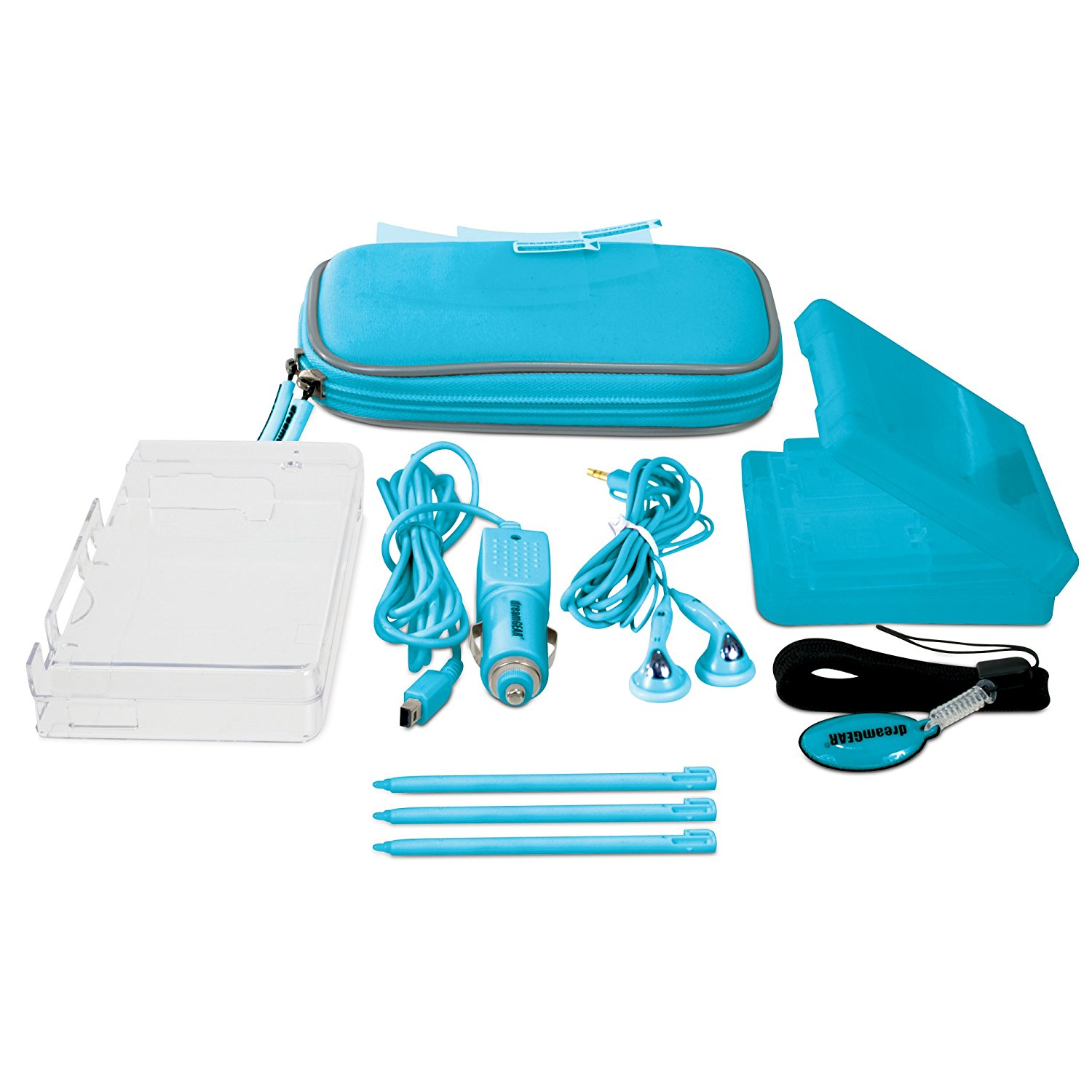DSi 10-in-1 Starter Kit Blue by DreamGear