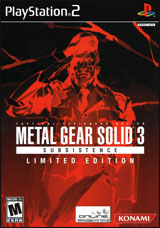 Metal Gear Solid 3: Subsistence Limited Edition
