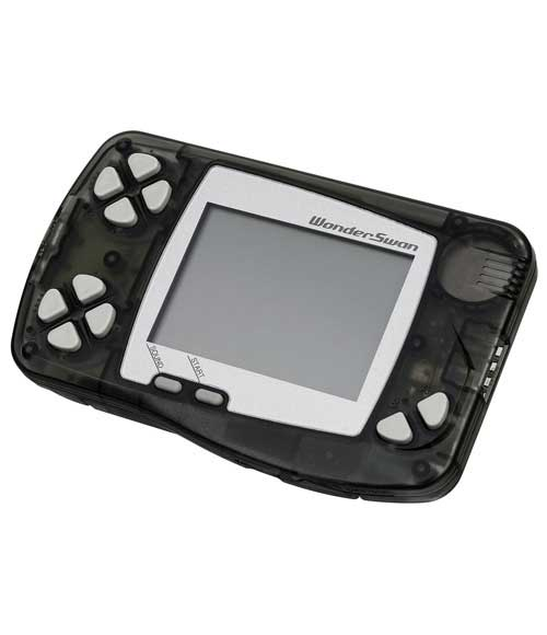 Bandai WonderSwan System Clear Black