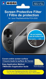 Playstation Vita Slim Screen Protective Filter