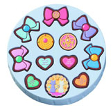 Sailor Moon Patisserie Cookie Charm 12 Piece Tin
