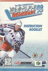 Wayne Gretzky's 3D Hockey '98 (Instruction Manual)