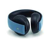 PlayStation 4 Gold Wireless Stereo Headset Limited Edition Grey/Blue