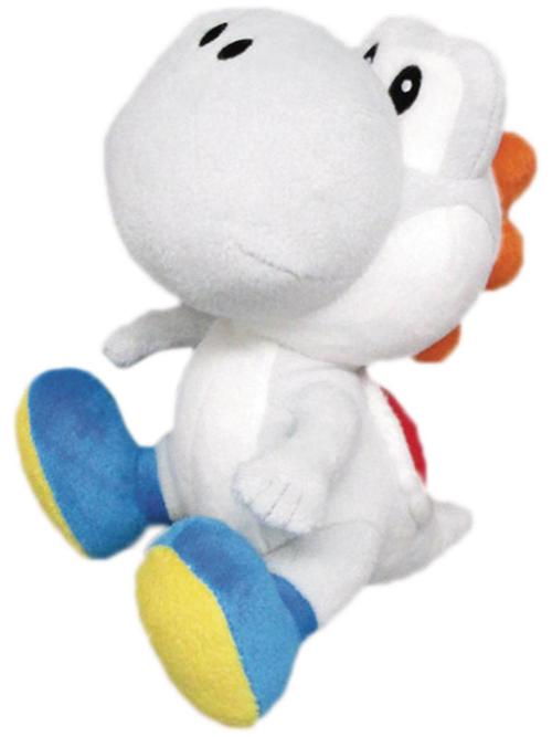Super Mario Yoshi 6 Inch White Plush
