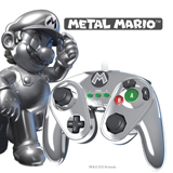 Wii U Metal Mario Wired Fight Pad
