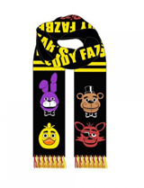 Five Nights at Freddy's Knit Scarf