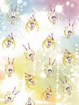Sailor Moon Crystal Scatter Print Scarf