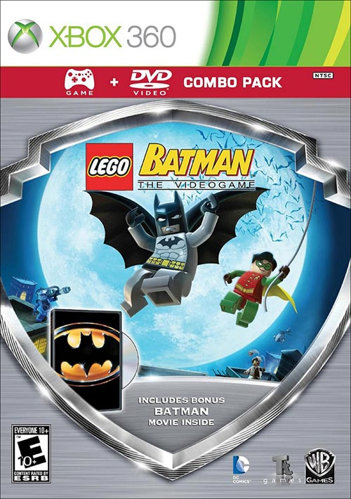 LEGO Batman Silver Shield Combo Pack