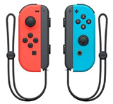 Nintendo Switch Left and Right Neon Red and Blue Joy-Con Controllers
