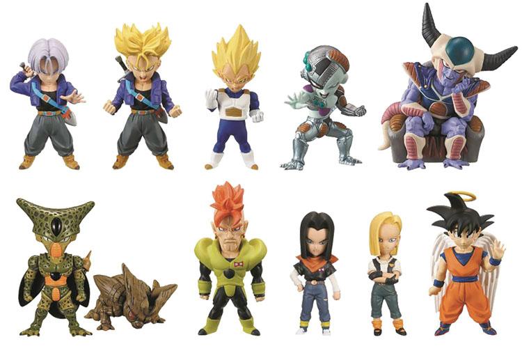 Dragon Ball Z Cell Saga Blind Mystery Box Figures