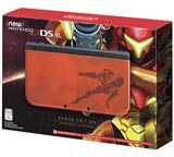 New Nintendo 3DS XL System Samus Edition