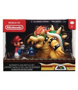 Nintendo Mario vs. Bowser Diorama Set