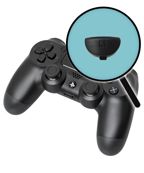 PlayStation 4 Repairs: Controller Left Shoulder Button Replacement Service