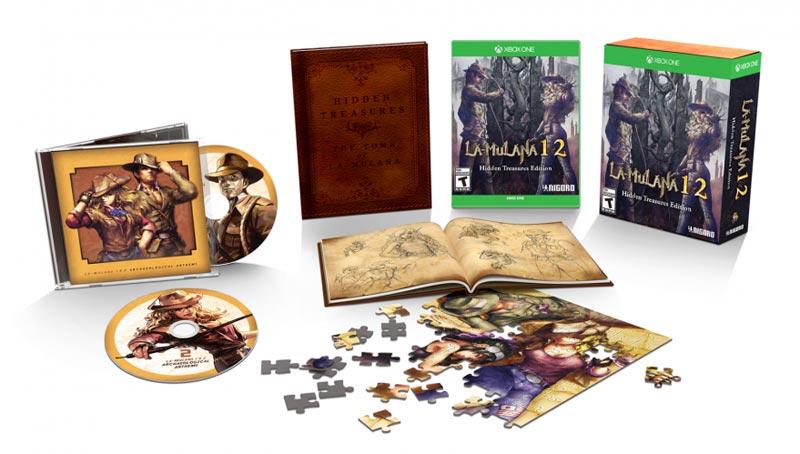 Xbox One La Mulana 1 and 2 Hidden Treasures Edition