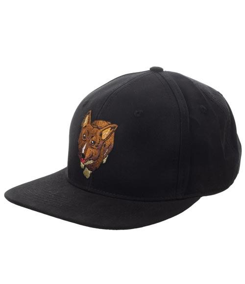 Cowboy Bebop Ein Black Snapback Hat