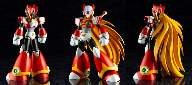 Mega Man X Zero Classic Ver Platic Model Kit extra img
