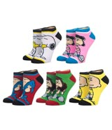 Peanuts Character Ankle Socks 5 Pack