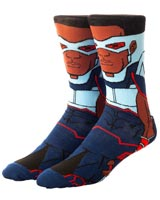 Marvel Avengers Falcon 360 Crew Socks