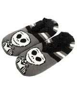 Nightmare Before Christmas Jack Skellington Slipper Socks