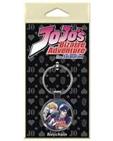 Jojo's Bizarre Adventure Season 4 Dio Brando & Jonathan Joestar Keychain