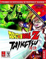 Dragon Ball Z: Taiketsu Official Strategy Guide
