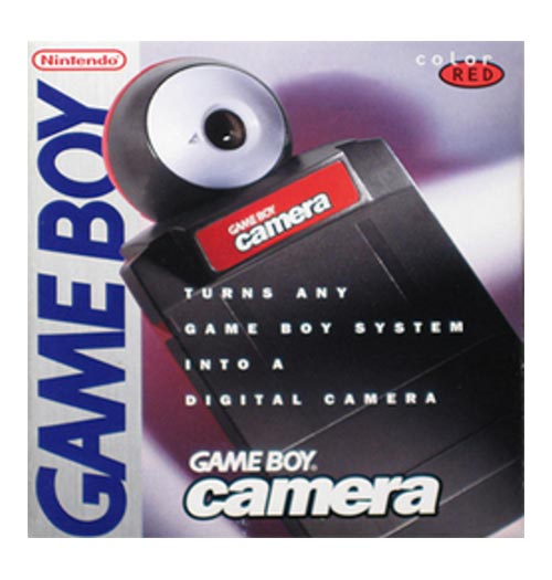 Game Boy Camera Red