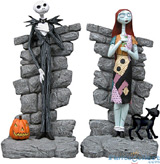Nightmare Before Christmas: Jack and Sally Bookends