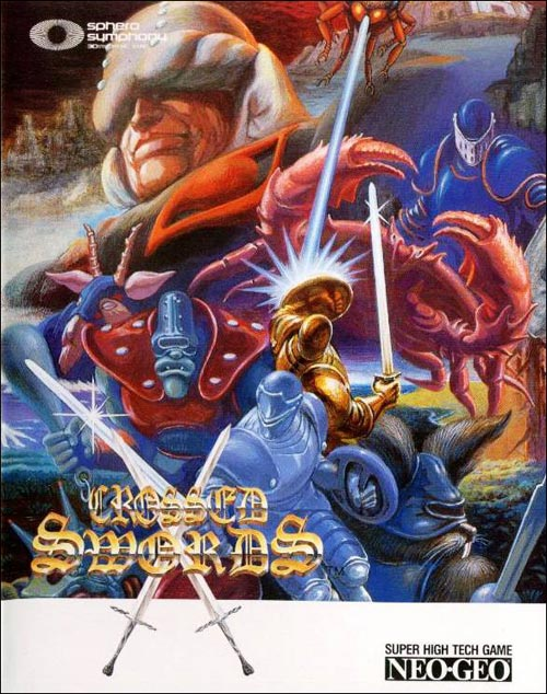 Crossed Swords Neo Geo AES