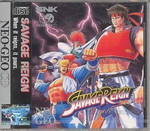 Savage Reign Neo Geo CD