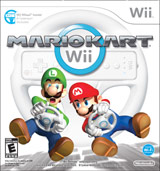 Mario Kart Wii with Steering Wheel