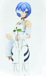 Fraulein Revoltech #008: Rei Ayanami Bandage Version Action Figure