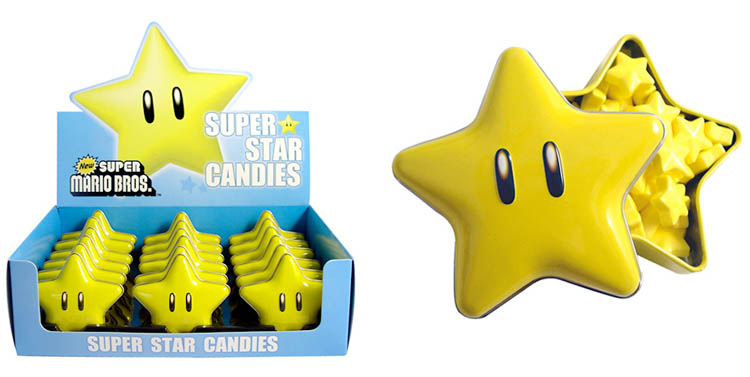 Mario Super Star Candies Tin