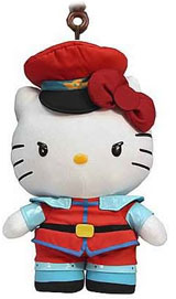 Sanrio x Street Fighter M. Bison 4