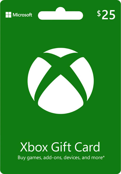 Xbox 360 Live $25 Card by Microsoft
