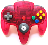 N64 Controller by Nintendo (Fire Red)