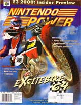 Nintendo Power Volume 132 Excitebike 64