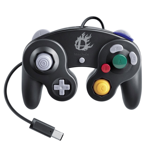 GameCube Super Smash Bros. Edition Controller Black