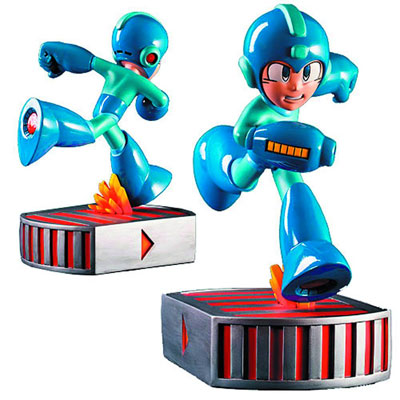 Megaman Running Statue