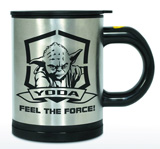 Star Wars Yoda Self-Stirring Mug