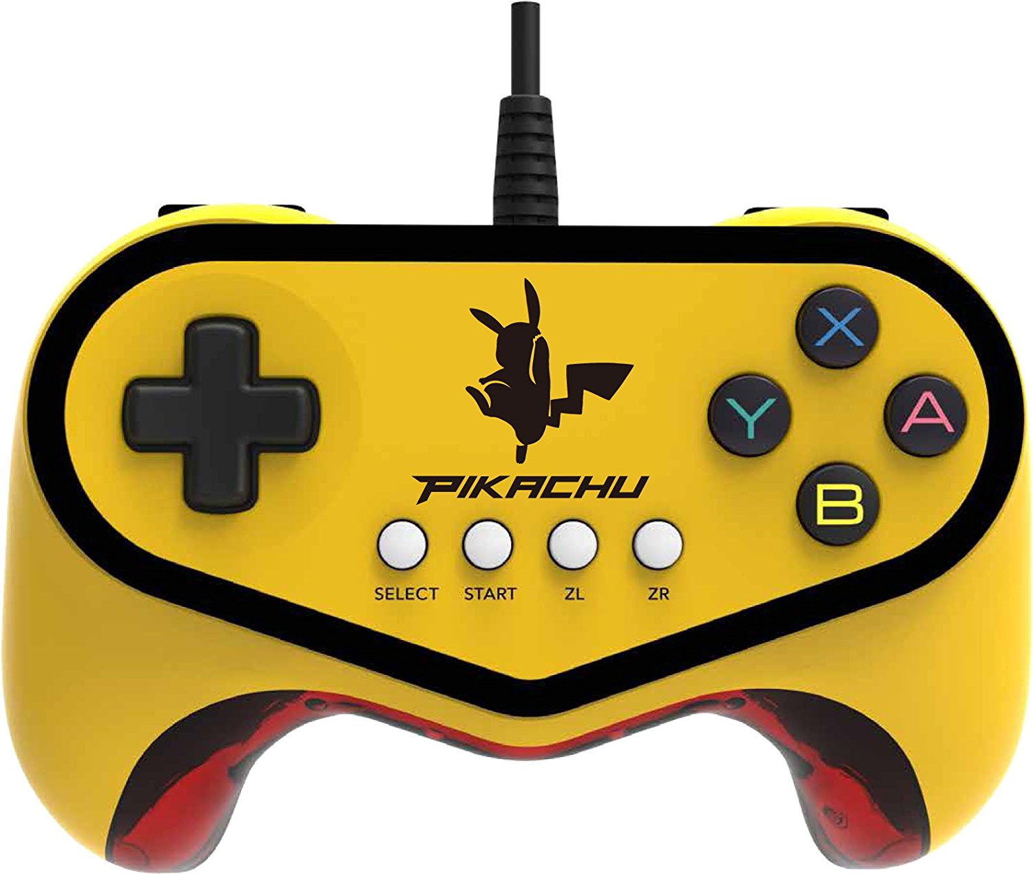 Wii U Pokken Tournament Pro Pad Pikachu Edition by Hori