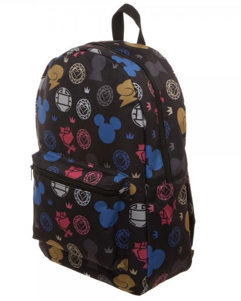 Kingdom Hearts All Over Print Sublimated Backpack