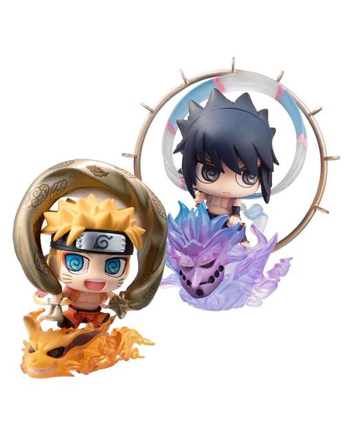 Naruto: Petit Chara Fujin & Raijin 2 Pack Mini Fig Set