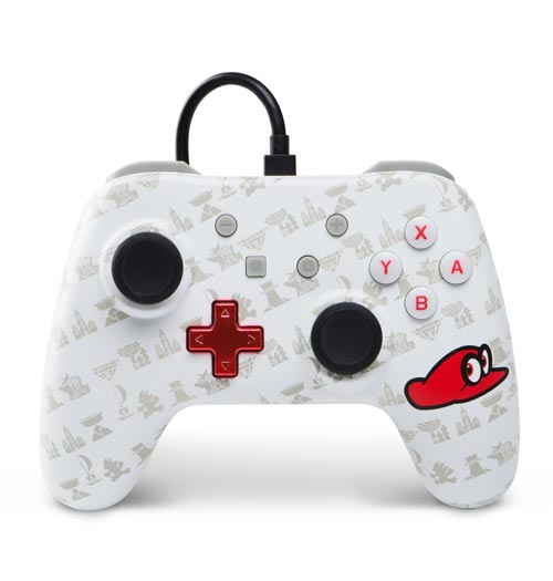 Nintendo Switch Wired Controller Plus: Super Mario Odyssey Cappy Edition