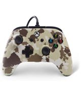 Xbox One Enhanced Wired Controller: Sandstorm Camo